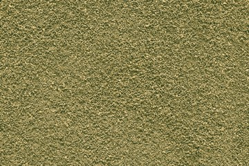 texture ground powder of yellow green color