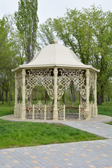 Fancy gazebo in a park