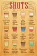 Shots menu kraft