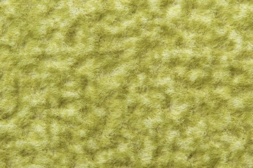 wool texture background, macro of green woolen fabric