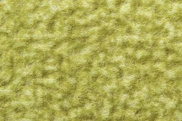 wool texture background, macro of green woolen fabric