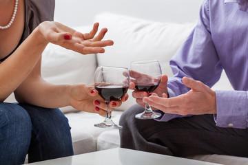 Copule with vine