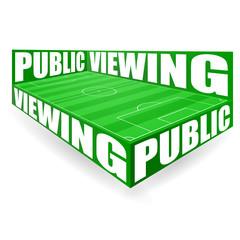 fussballfeld public viewing III
