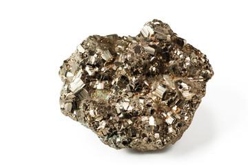 Shiny pyrite
