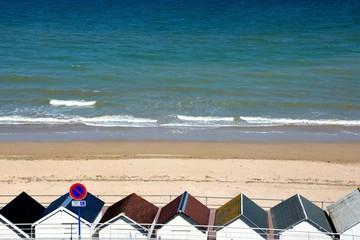 Luc sur mer sa plage côte de nacre