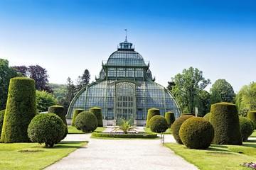 Botanical garden near Schonbrunn palace in Vienna