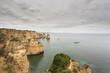 Vista para a costa do Algarve