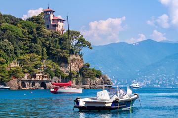 Bay of Portofino, Italy.