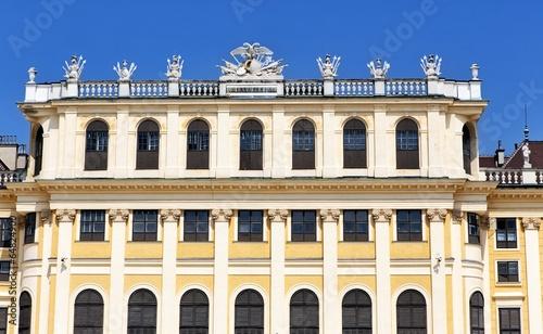 Schonbrunn palace in Vienna, Austria