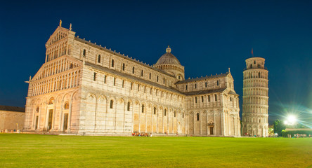 Pisa Cathedral and Leaning Tower