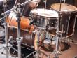 Leinwanddruck Bild - Drumset