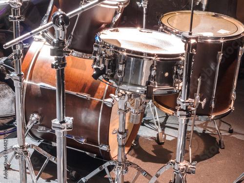 Leinwanddruck Bild Drumset