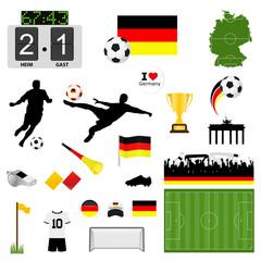 Fußball Set Deutschland