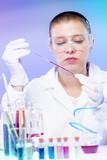woman scientist in laboratory