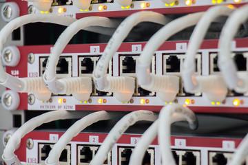 Lan panel switch