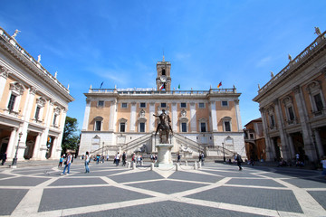 Rome - Campidoglio (statue de Marc-Aurèle)