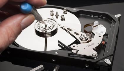 Hard drive fix