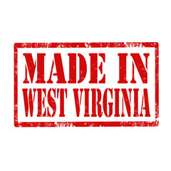 Made In West Virginia-stamp