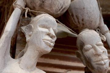 Sculptures-Ziguinchor-Senegal