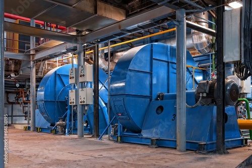 Generator inside power plant