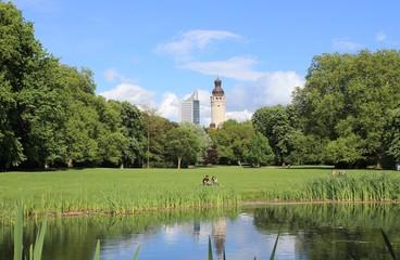 Leipzig Skyline Park