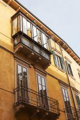 alte Hausfassade in Verona