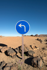 traffic sign - tenerife