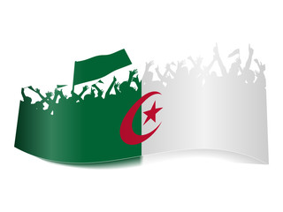 2014 Gruppen Schild - Algerien