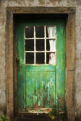Holztür ländlich