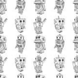 toy robots pattern