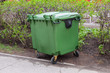 Green recycling container
