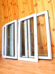 Installation of plastic windows
