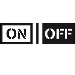 On Off Schalter Design