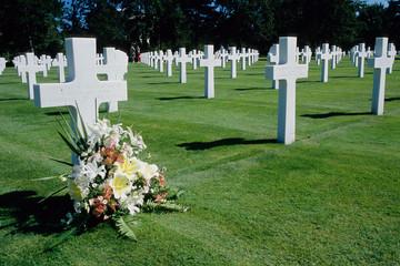 cimitero militare americano sbarco colleville normandia