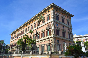 Palazzo Margherita - Ambasciata statunitense