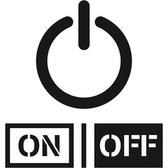 On Off Power Schalter Design