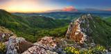 Slovakia mountain at spring - Vrsatec