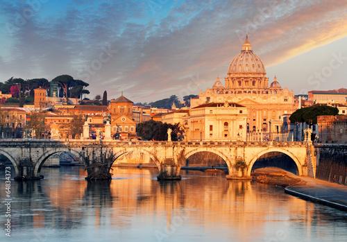 Foto op Canvas Praag Rome, Vatican