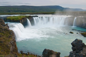 Godafoss falls, North Iceland