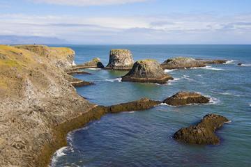 Coast of Arnarstapi, Snaefellsnes, Iceland