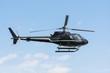 Leinwanddruck Bild - Helicopter for sightseeing