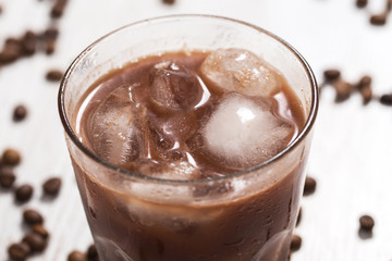 Cold coffee cocktail