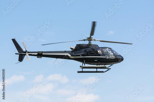 Leinwanddruck Bild Helicopter for sightseeing