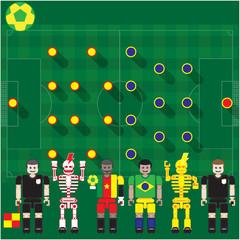 Cameroon vs Brasil