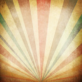 Vintage Sunbeams Background