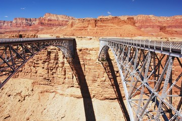 Navajo Bridge over the Colorado River, Arizona