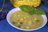 Southwestern Potato and Corn Soup poster