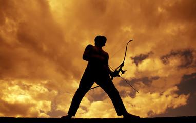 Archer Silhouette
