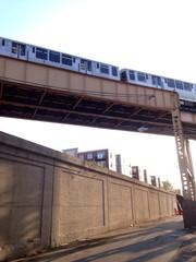 train above