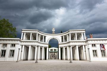Zale Central cemetery, Ljubljana, Slovenia.